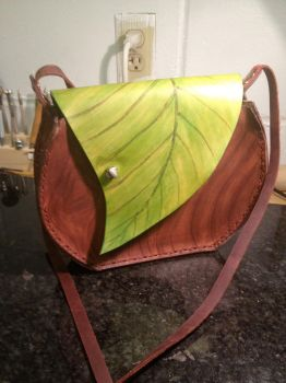 Leaf Purse by Elleron77