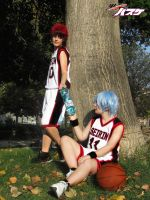 Kuroko no Basket : Do you need water? by MischievousBoyAilime