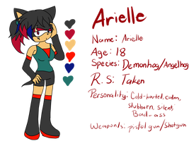 Arielle Reference by xXDemonRoseXx