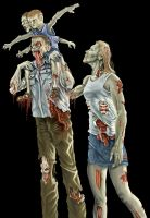 Zombie Family by tomographiser