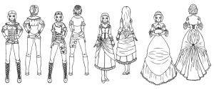 Adreana collection by lady-of-crow