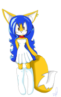 Karla the fox pixel art by Toxic-Chuckle