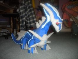 Dialga Plushie NEW by Monster-House-Fan92