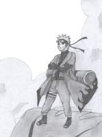 Naruto Sage Mode by AA17