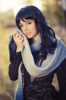 Autumn Clouds Scarf by Federkiel