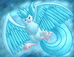 Articuno by LilWhiteMage