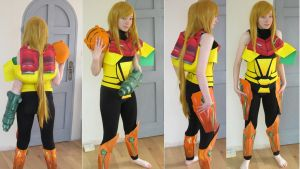 Samus Cosplay try-out (all current progress!!) by WarlordRyuzaki