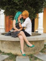 Haruka x Michiru - Cosplay Session 07 by Bahamut-Eternal