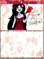 Picking a Valentine by AT-Marceline