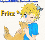 Me and Fritz by MyDeathTHEKid