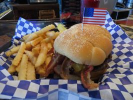 My Western Burger, Delicious! by Molebut