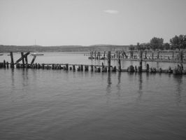 The Great Old Hudson River by lessdesire