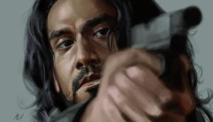 LOST: Sayid Speedpaint by TheChaoticKnight