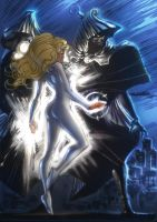 Cloak and Dagger colored by Cinar