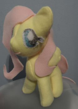 Fluttershy Plush by keaton-furman-prower