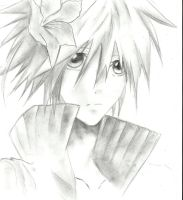 Scribble: Cloud Strife by HaouJudai