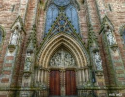 Church Doors by Estruda