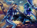 Heroes of the Storm Contest - Nova and Tyrande by ChloexBowie
