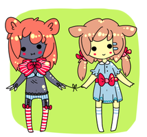 Couple adopts {set 1} by Eeyrie