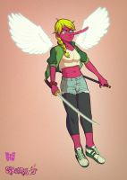 Tengu Girl by DocSinistar