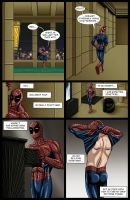 Spideypool Comic 'Never Say Never' Page 12 by jijikero