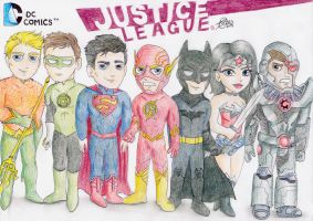 Justice League - The New 52! by diegio1996