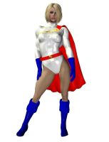 Power Girl wip by cattle6