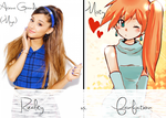 Reality Vs. Fanfiction: Miya Delaris by CutsieBasemaker