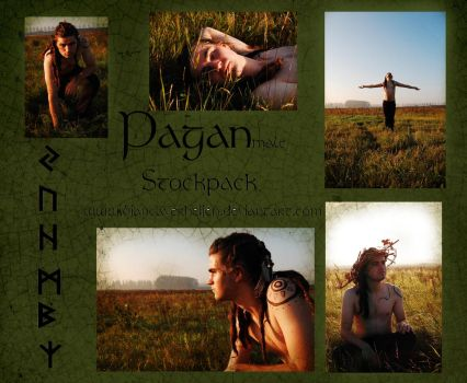 56pc Pagan-male stockpack by PumpkinPhotography