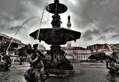 Lisboa Fountain by petteritt