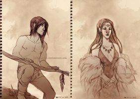 Sketches: V by Luciana-Lu