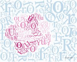 first typography by Zara-Girl