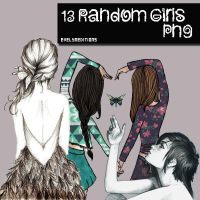 13 Random Girls by HeyBieber14