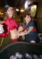 PBR'S AND ROLLER GIRLS by Chickenoftheland