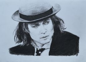 Sam from Benny and Joon 2 REDRAW by Bubuka812