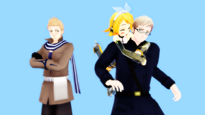 Somebody is jealous by Ask-MMD-Netherlands