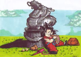 Young dragonball by friend-of-totoro