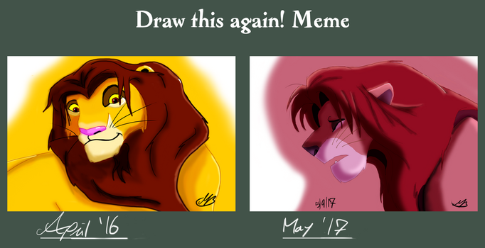 Draw This Again Simba by valued-vestige