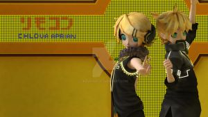 Kagamine Twins - Remote Control by krvrian