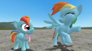 Rainbow Dash Young [Download] by CobbaltCO
