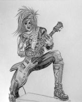 Jinxx Sketch by catherine51892