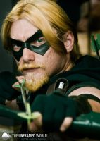 Green Arrow at Otakon 2011 by AndrewMarston