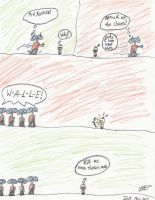 Wall-e:Attack of the clones by Weevmo