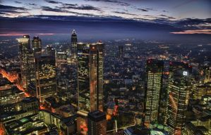 Mainhattan Night by rayxearl