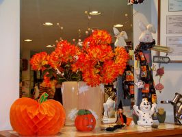 Hair Shop Holiday Display by BlueSolitaire