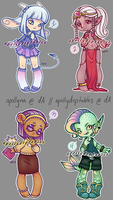 [ 1/4 OPEN ] APOriku Mixed Set [ set price ] by apollydopts