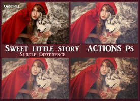 Sweet little story   ACTIONS Ps by Tetelle-passion