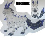 Obsidius- Alaukika contest submission by xWitheringwilloWx