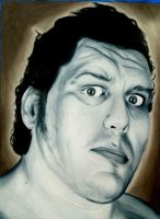 Andre the Giant by urtkayart