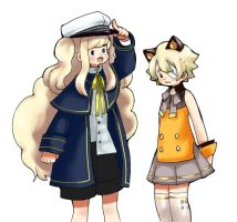 SeeU and Oliver by hahuchal